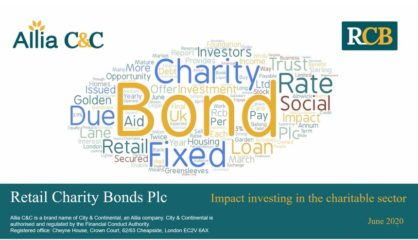 Retail Charity Bonds: Presentation